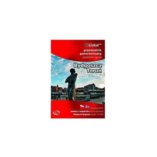 Przewodniki turystyczne, Przewodnik Panoramiczny Bydgoszcz Toruń (Płyta DVD) (opr. miękka)