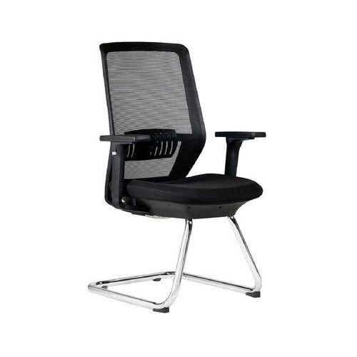 Fotele i krzesła biurowe, Krzesło konferencyjne SPECTRUM czarny