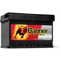 Akumulatory samochodowe, Akumulator Banner Power Bull 72Ah 670A EN PRAWY PLUS