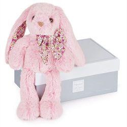 Różowy królik PM 25cm - Les Copains Câlins