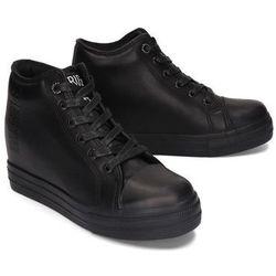 BIG STAR EE274127 czarny, trampki, sneakersy damskie - Czarny