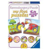 Puzzle, Ravensburger - Zwierzęta na farmie - puzzle, 9x2 elementy - Ravensburger
