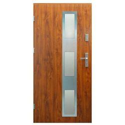 Drzwi zewnętrzne Denali 90 lewe złoty dąb