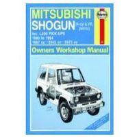 Biblioteka motoryzacji, Mitsubishi Shogun oraz L200 Pick-Upy silniki benzynowe (1983 - 1994=