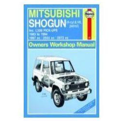 Mitsubishi Shogun oraz L200 Pick-Upy silniki benzynowe (1983 - 1994=