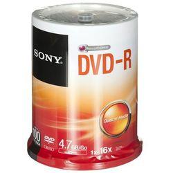DVD-R Sony 4,7GB 100szt.- natychmiastowa wysyłka, ponad 4000 punktów odbioru!