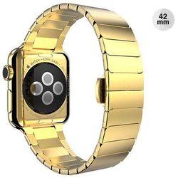 ZŁOTA Elegancka bransoleta/pasek do Apple Watch Lock Loop 42mm - Złoty
