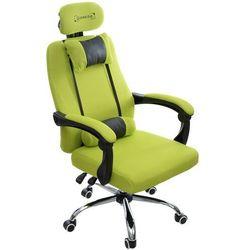 Fotel biurowy GIOSEDIO limonkowy, model GPX014