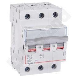 Legrand DX3 Rozłącznik izolacyjny FR303 40A 406466