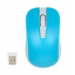Myszka bezprzewodowa iBOX Loriini Blue optyczna niebieska