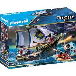 Playmobil Pirates: Statek Rotrock (70412). Wiek: 5+