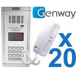 Zestaw domofonowy 20 rodzinny WL-03NL