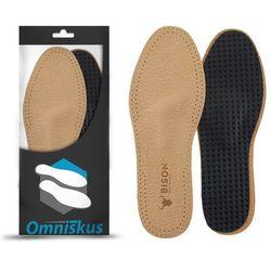 Skórzane wkładki do butów na płaskostopie poprzeczne - R072