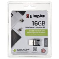Flashdrive, Pendrive Kingston MicroDuo 16GB USB 3.0 USB 2.0