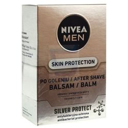 Balsam po goleniu Nivea Skin Protection Silver Protect dla mężczyzn 100ml
