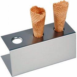 Stojak do lodów na 3 wafelki