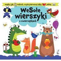 Książki dla dzieci, Wesołe wierszyki o zwierzątkach, Książeczka z piktogramami - Urszula Kozłowska (opr. twarda)