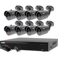 Zestawy monitoringowe, Zestaw do monitoringu zewnętrzne kamery 8 x LV-AL30HT + Rejestrator LV-XVR84N-II
