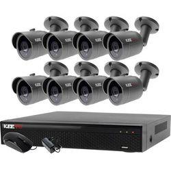 Zestaw do monitoringu zewnętrzne kamery 8 x LV-AL30HT + Rejestrator LV-XVR84N-II
