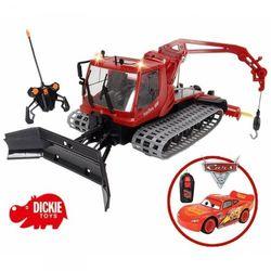 DICKIE Traktor zdalnie sterowany Ratrak pług PILOT + Zdalnie sterowany Zygzak McQueen za grosz!