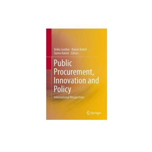 Książki o biznesie i ekonomii, Public Procurement, Innovation and Policy