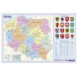 Podkładka Administracyjna mapa Polski