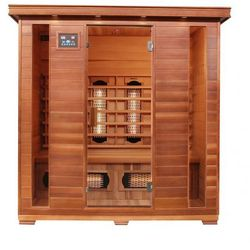 SAUNA CEDROWA INFRARED ROYAL 400 KWARC