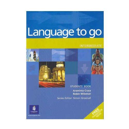 Książki do nauki języka, Language to Go Intermediate Student's Book (podręcznik) (opr. broszurowa)