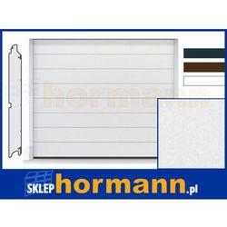 Brama RenoMatic 2018, 2500 x 2000, Przetłoczenia M, Sandgrain, kolor do wyboru: biały, brązowy, antracytowy