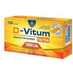 D-Vitum Forte® 2000 j.m Witamina D - 120 kaps