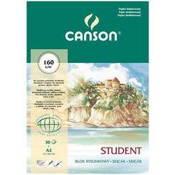Blok rysunkowy CANSON A2 90g. 30k.