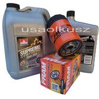 Oleje silnikowe, Filtr oleju oraz syntetyczny olej 5W30 Jeep Commander 3,7 V6 -2008