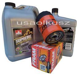 Filtr oleju oraz syntetyczny olej 5W30 Jeep Commander 3,7 V6 -2008