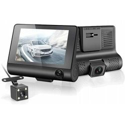 Video Rejestrator Jazdy Kamera Cofania 3 Kamery