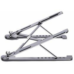 Składana podstawka stojak podpórka do laptopa MacBooka S (ekran od 11'' do 13,8'') szary - S