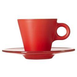 Leonardo - Filiżanka do espresso i spodek Ooh!Magico - czerwona