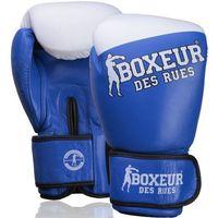 Rękawice do walki, Rękawice bokserskie BOXEUR BXT-5208 Niebiesko-biały (14 oz)