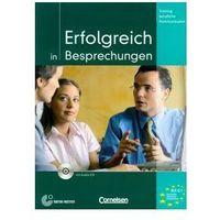 Książki do nauki języka, Erfolgreich in Besprechungen, m. Audio-CD (opr. miękka)