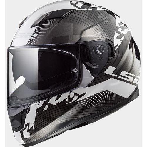 Kaski motocyklowe, KASK LS2 FF320 STREAM EVO HYPE B/W TITANIUM