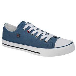 Kultowe Trampki BIG STAR T274030 Niebieskie - Niebieski ||Biały