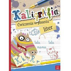 Kaligrafia. Ćwiczenia w pisaniu liter (opr. broszurowa)