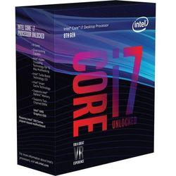 Intel Desktop Core i7-8700K, Coffee Lake, 6 x 3.7GHz (do 4.7GHz Turbo), 12MB Cache, 95W
