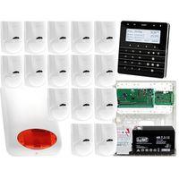 Zestawy alarmowe, Zestaw alarmowy Płyta główna INTEGRA 64 Manipulator sensoryczny INT-KSG-BSB 15x Czujka LC-100 Sygnalizator zewnetrzny SPL-5010 R