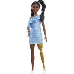Mattel Barbie Modelka 146 - Sukienka jeansowa z gwiazdkami