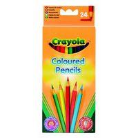 Kredki, Crayola, Core, Kredki ołówkowe, 24 szt.