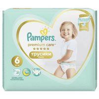 Pieluchy jednorazowe, Pampers Pants Premium Care 6 (15+ kg) 93 szt. (3x31 szt.)
