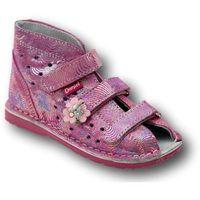 Obuwie profilaktyczne dziecięce, Daniel profilaktyczne buty wzór 260/270 kolor róż/fantazja
