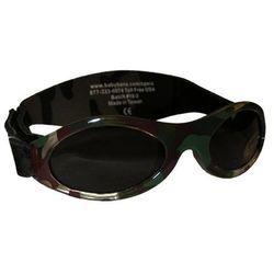 Okulary przeciwsłoneczne dzieci 0-2lat UV400 BANZ - Camo Green