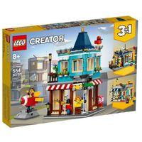 Klocki dla dzieci, LEGO Creator 31105 Sklep z zabawkami w centrum miasta