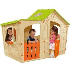 Dom zabaw dla dzieci Keter Magic Villa kremowy - Transport GRATIS!